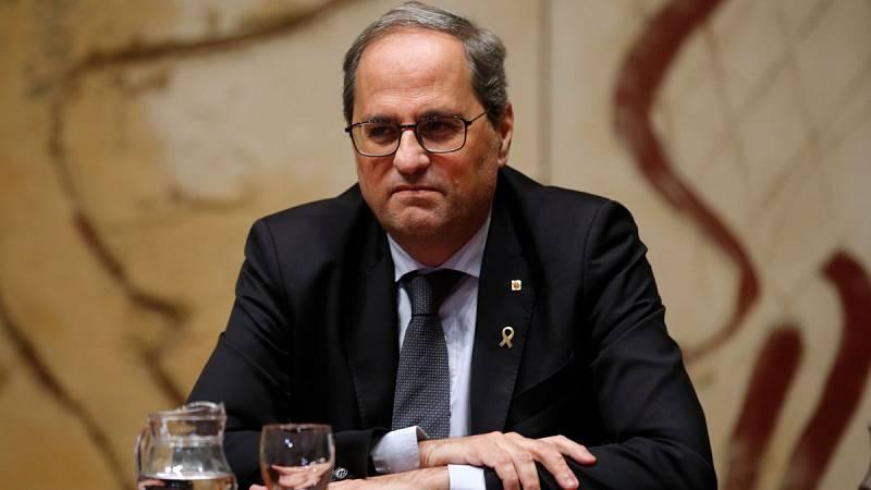 """24 horas - Javier Tajadura: """"En el momento en el que se deja de ser diputado, deja de ser presidente"""" - Escuchar ahora"""