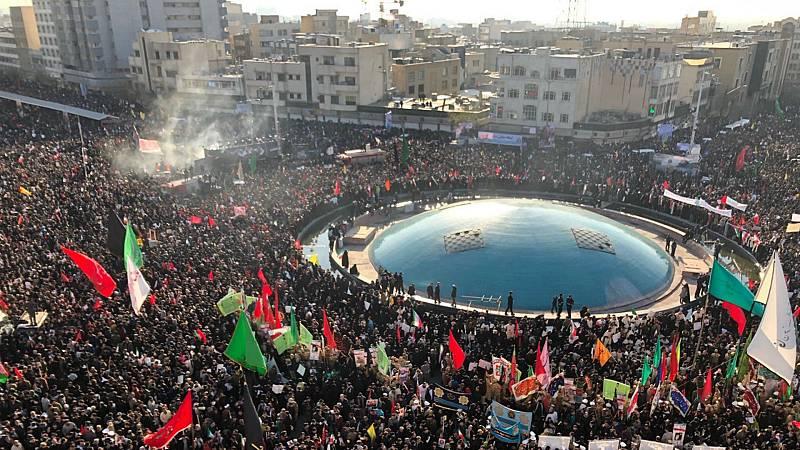 Boletines RNE - Multitudinario funeral del general Soleimani en Teherán - Escuchar ahora