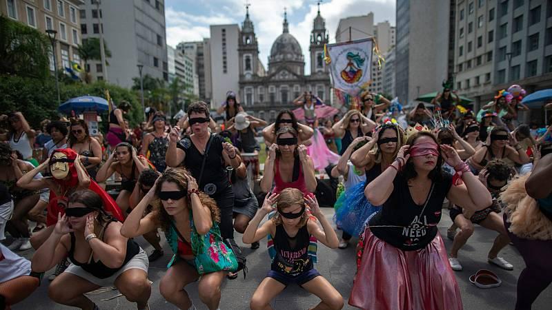14 horas - La lucha contra la violencia machista sigue cobranzo fuerza en Chile - Escuchar ahora