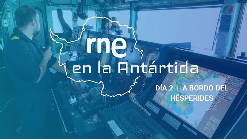 Las mañanas de RNE con Íñigo Alfonso - Expedición Antártica | La vida a bordo - Escuchar ahora