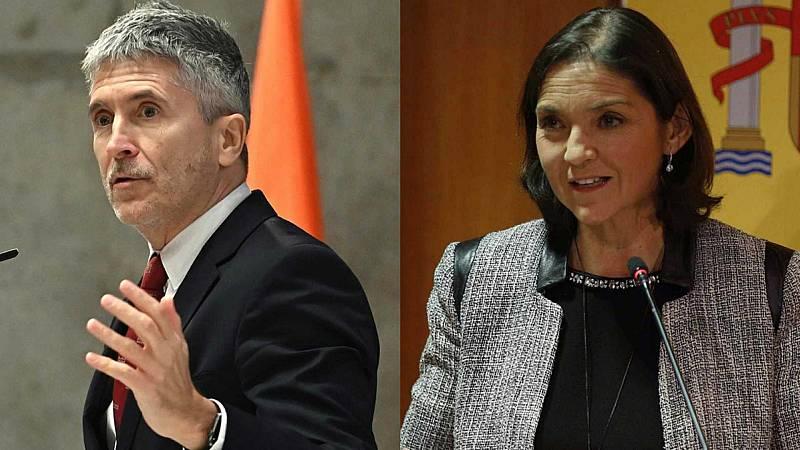 Boletines RNE - Marlaska y Maroto seguirán como ministros de Interior e Industria - Escuchar ahora
