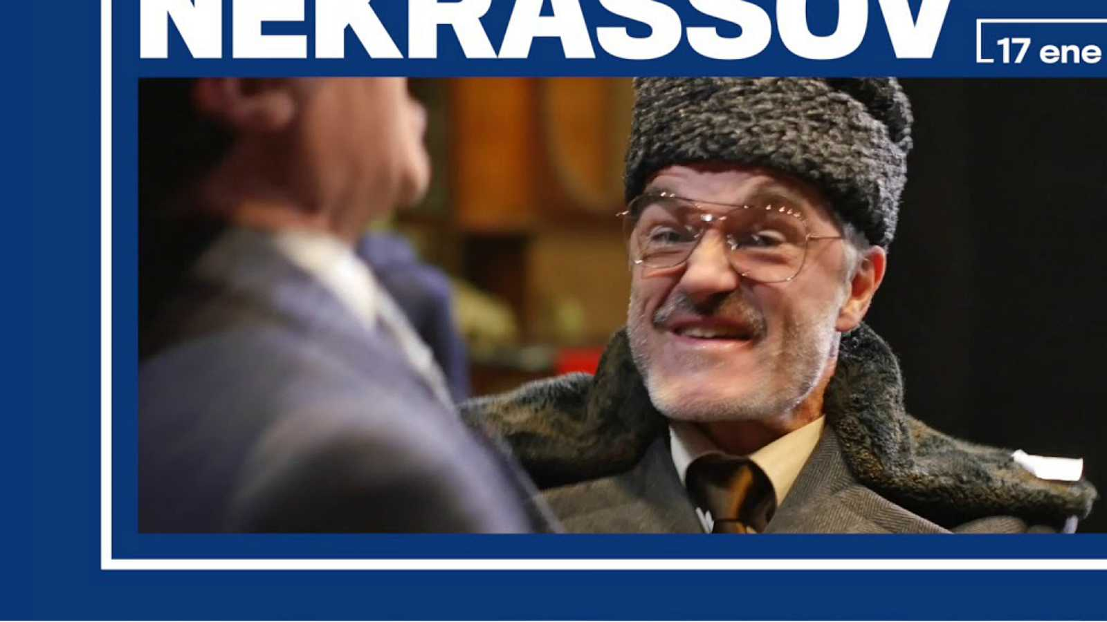 Literatro - Reposición de 'Nekrassov' - 10/01/20 - Escuchar ahora