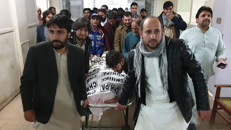 Boletines RNE - Una explosión en una mezquita deja al menos 13 fallecidos en Pakistán - Escuchar ahora