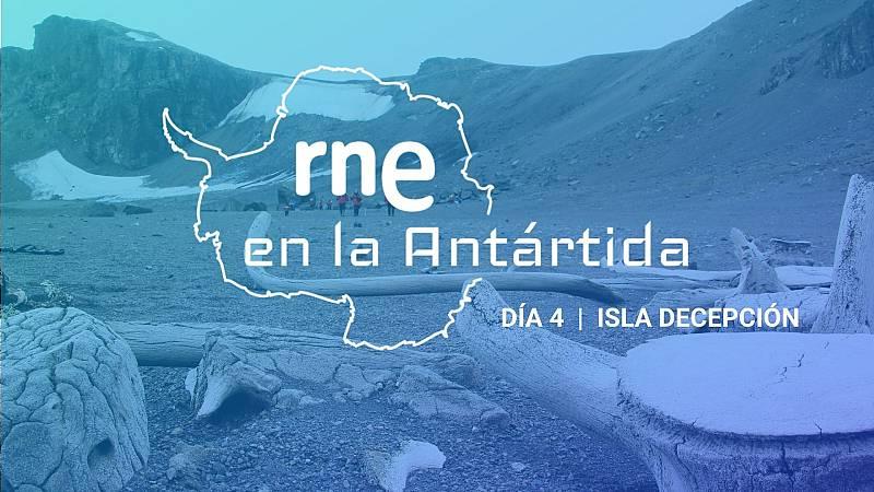 Las mañanas de RNE con Íñigo Alfonso - RNE en la Antártida | Isla Decepción - Escuchar ahora