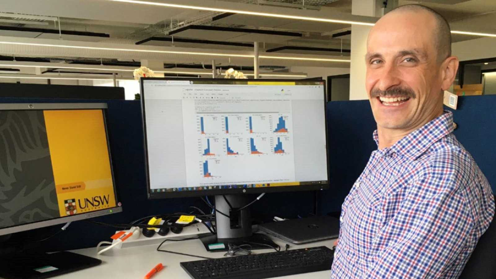 Punto de enlace - Óscar Pérez hace proyectos de 'big data' aplicados a la salud en Australia - 14/01/20 - escuchar ahora