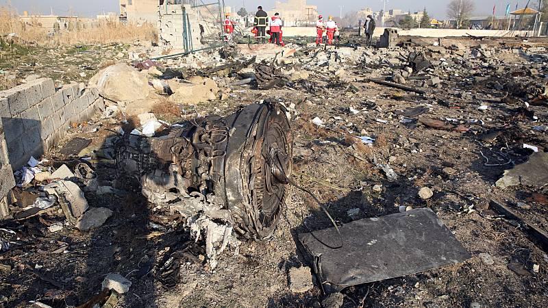 Boletines RNE - Cinco países demandan a Irán por el derribo del avión ucraniano - Escuchar ahora