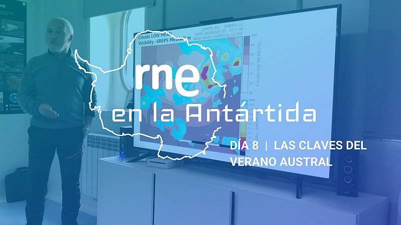 Las mañanas de RNE con Iñigo Alfonso - RNE en la Antártida | Día 8: Las claves del verano austral - escuchar ahora