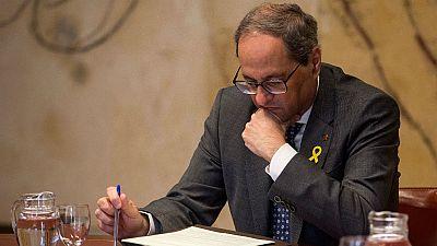14 horas - La Fiscalía rechaza que la JEC pueda ordenar el cese de Torra - Escuchar ahora