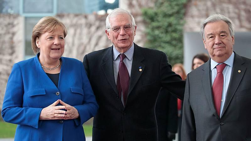 Boletines RNE - En Berlín se habla de la paz en Libia con pocas espectativas de éxito - Escuchar ahora