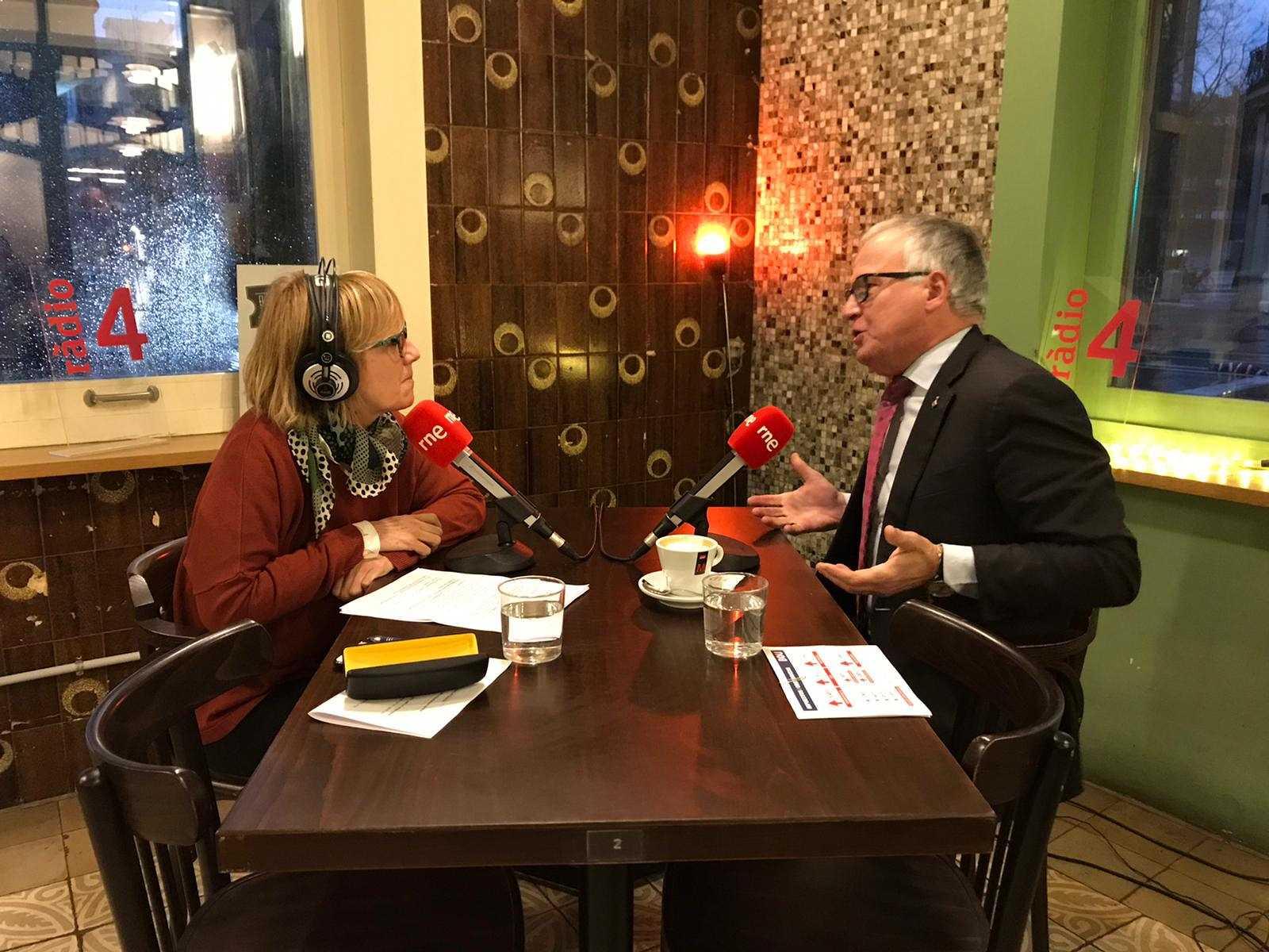Gemma Nierga entrevista Josep Bou 21/01/20