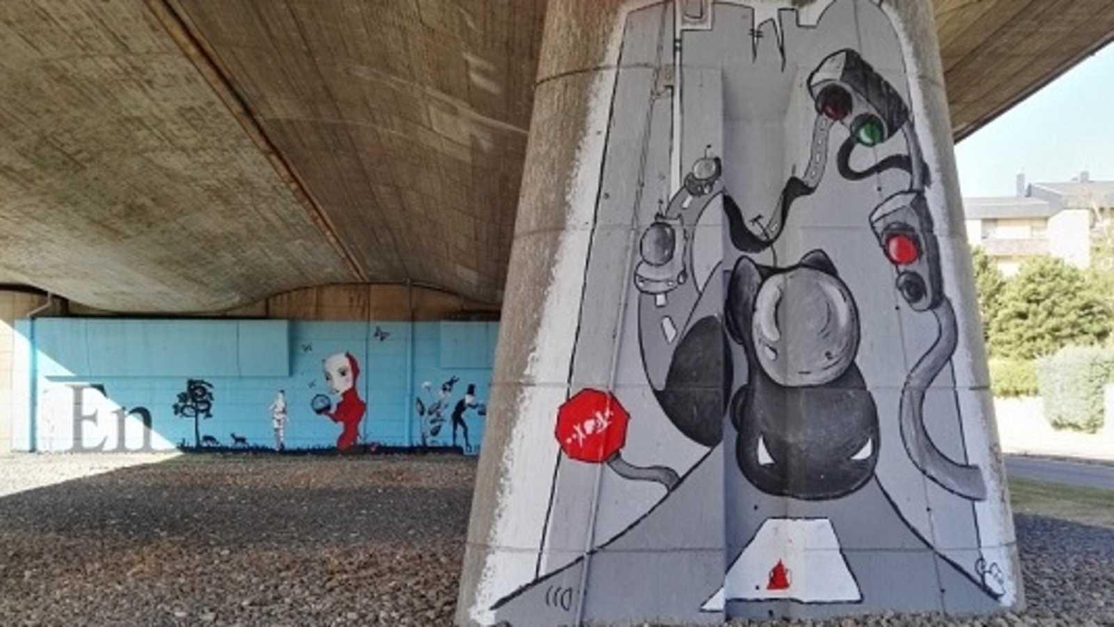 Por tres razones - Grafitis contra el vandalismo - 21/01/20 - escuchar ahora