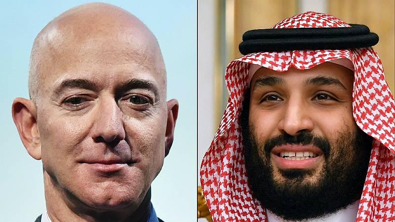Todo Noticias Mañana - Acusan al príncipe heredero de Arabia Saudí de 'hackear' el móvil de Jeff Bezos - Escuchar ahora