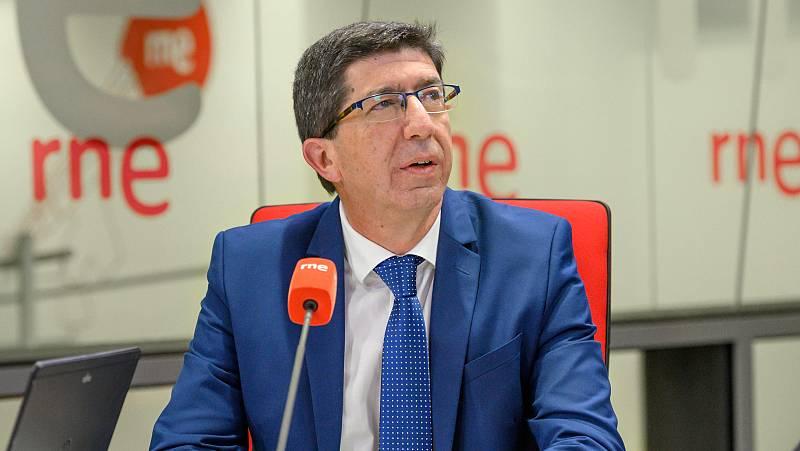 Las mañanas de RNE con Íñigo Alfonso - Juan Marín asegura que en Andalucía no se aplicará el 'Pin Parental'