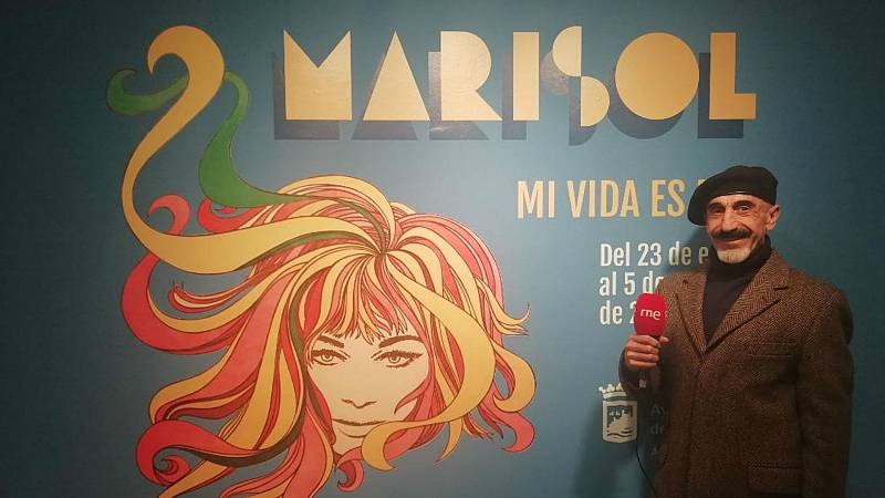 """En escena - Marisol en la exposición """"Mi vida es mía"""" - Escuchar ahora"""
