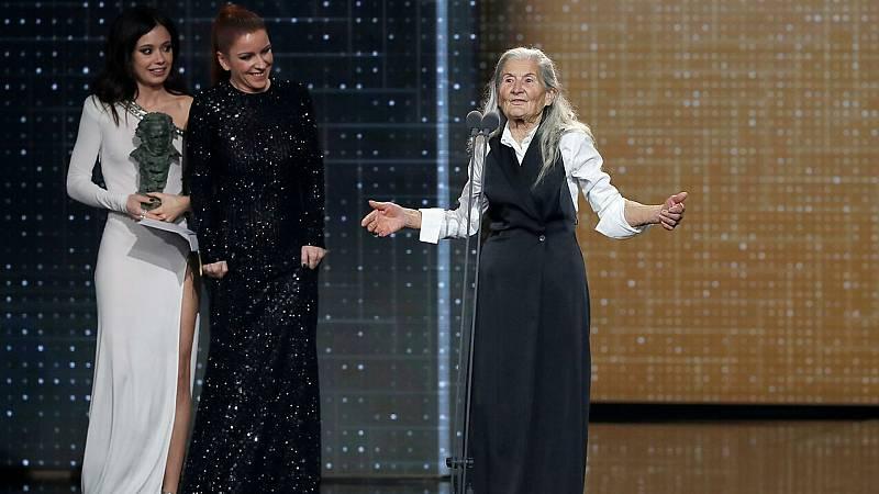 """De película - Premios Goya - Benedicta Sánchez: """"No me gusta competir. Hay tres chicas encantadoras, se lo pasaría"""" - Escuchar ahora"""