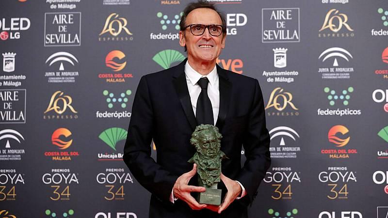 """De pelicula - Premios Goya - Alberto Iglesias :""""No le pregunté si era su vida, me lo plantee como una ficción"""" - Escuchar ahora"""