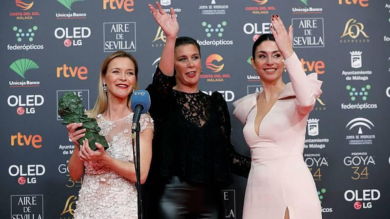 De Película - Premios Goya - El momento emotivo con el Goya de honor - Escuchar ahora