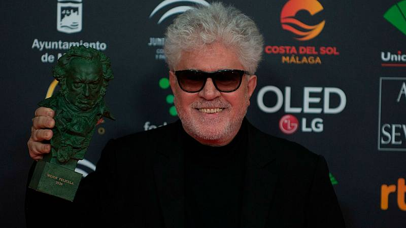 De película - Premios Goya - Almodóvar reclama protección estatal para el cine independiente - Escuchar ahora