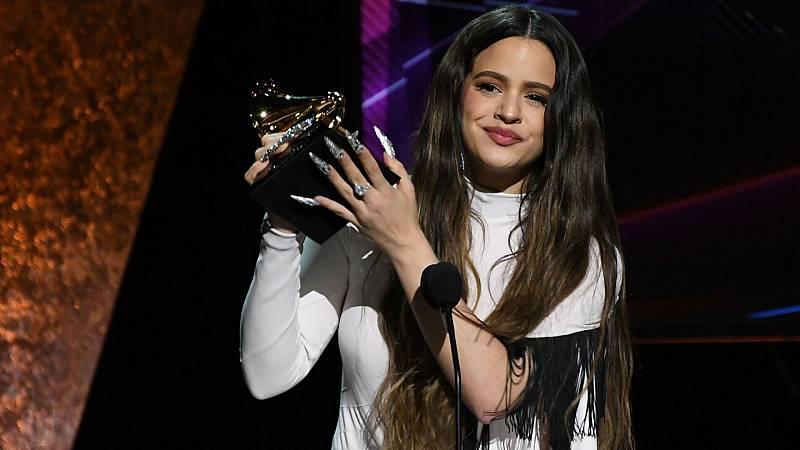 Rosalía gana el Grammy al mejor disco latino de rock, urbano o alternativo - Escuchar ahora