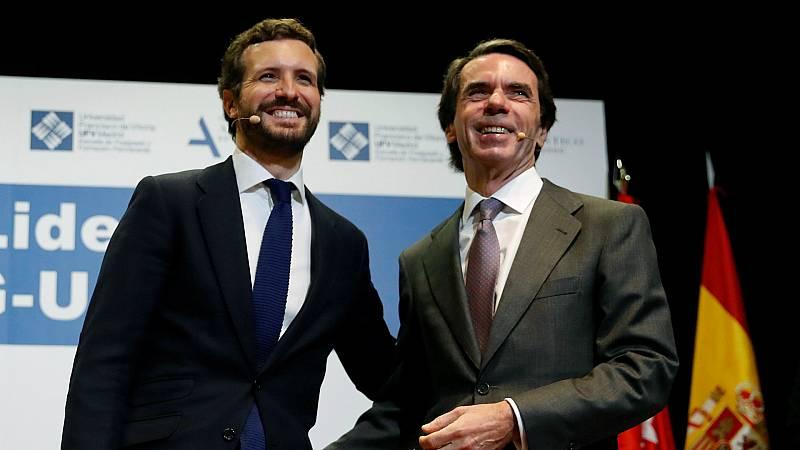 "14 horas - Aznar aconseja a Casado ""hacer oposición con voz propia"" - Escuchar ahora"