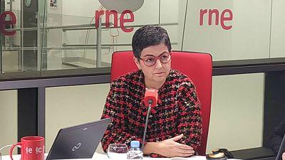 """Las mañanas de RNE con Íñigo Alfonso - González Laya insta a los españoles a regularizar su situación: """"Está blindada hasta finales de 2020"""" - Escuchar ahora"""