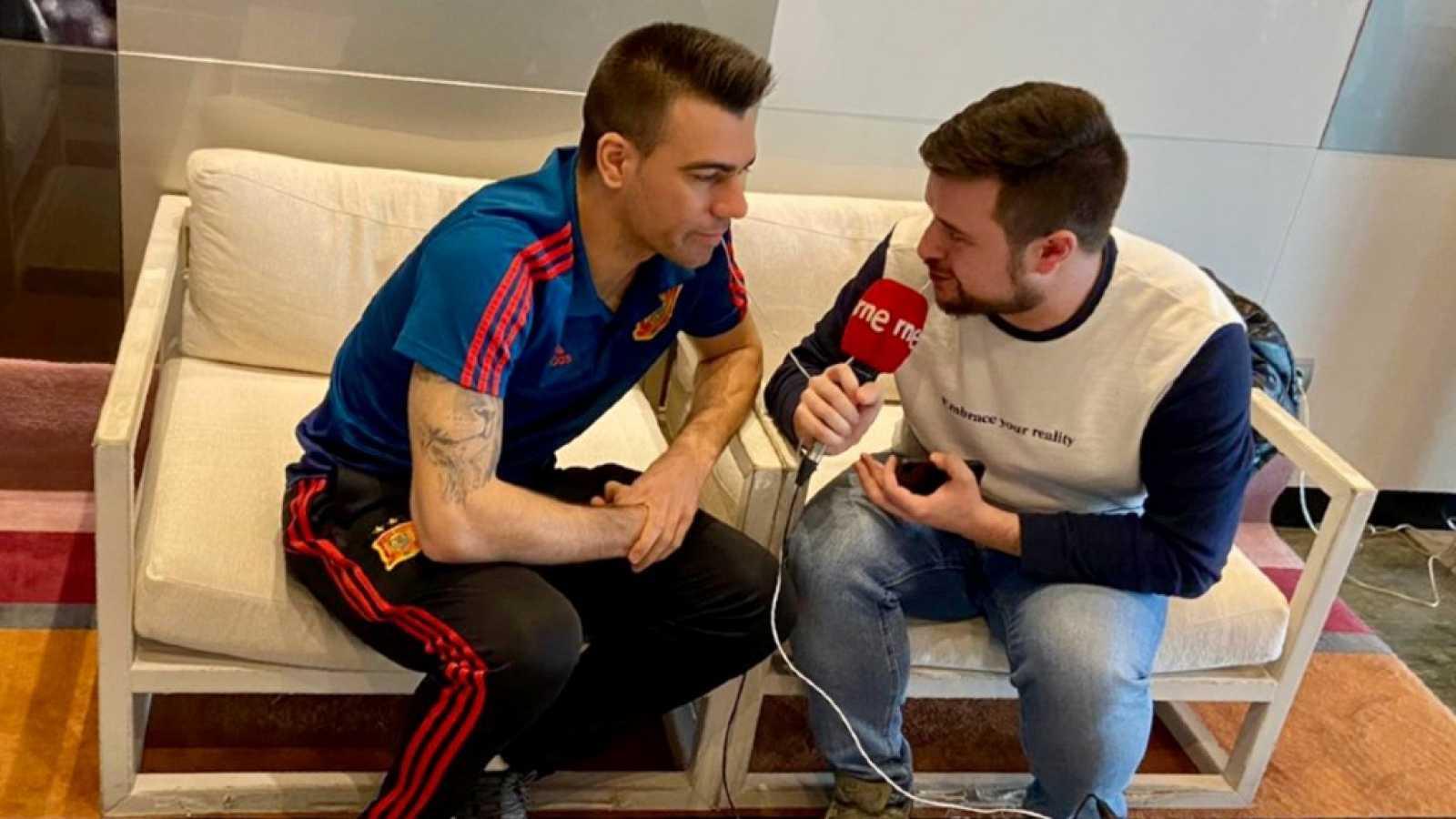 """El Vestuario en Radio 5 - Sergio Lozano: """"No tenemos margen de error"""""""