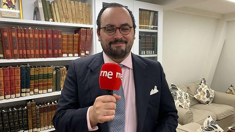 """24 horas - Ignacio Peyró: """"Ojalá algún día volvamos a estar bajo el mismo techo. Mientras tanto, tan amigos"""" - Escuchar Ahora"""