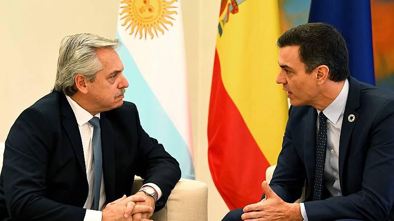 Hora América - Alberto Fernández obtiene el apoyo europeo para renegociar la deuda argentina - 06/02/20 - escuchar ahora