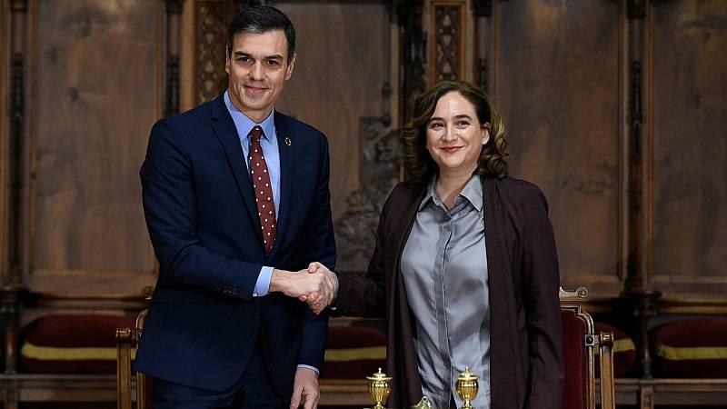 Boletines RNE - Sánchez ofrece diálogo y acción a la alcaldesa de Barcelona - Escuchar ahora