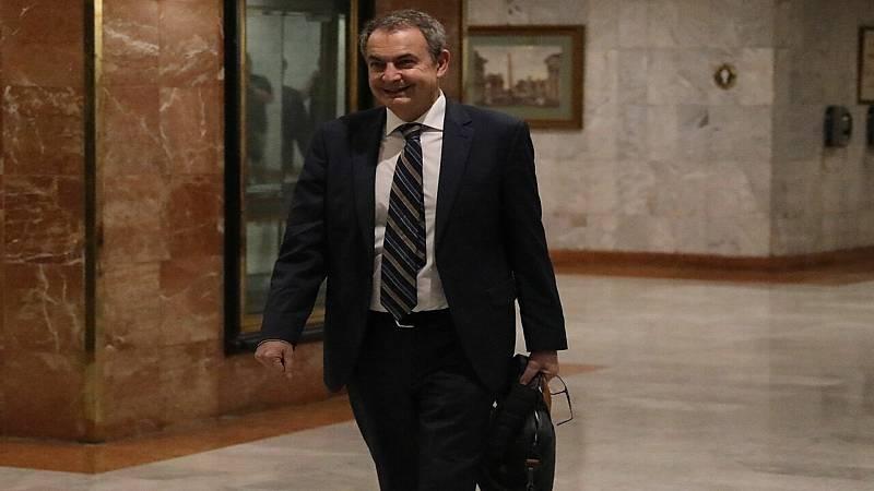 Boletines RNE - El Gobierno dice que Zapatero ha viajado a título particular a Venezuela - Escuchar ahora