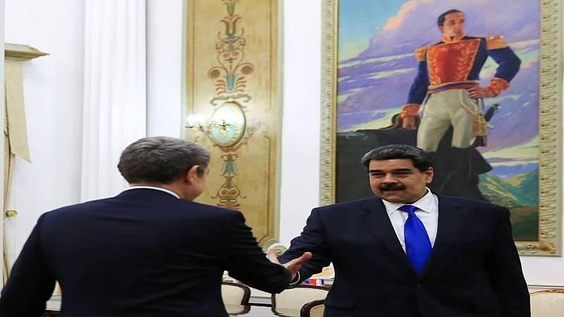 24 horas fin de semana - La oposición quiere que el Gobierno explique si Zapatero tiene condición de mediador por su viaje a Venezuela - Escuchar ahora