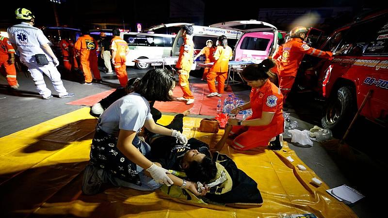 24 horas fin de semana - Muere un policía en la operación de asalto para neutralizar al soldado atrincherado en Tailandia - Escuchar ahora