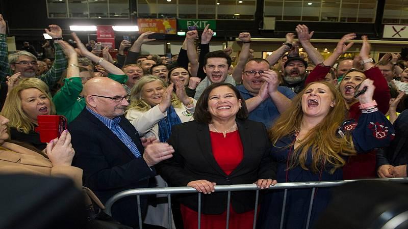 24 horas fin de semana - 20 horas - El descontento y los jóvenes permiten al Sinn Féin romper el bipartidismo en Irlanda - Escuchar ahora