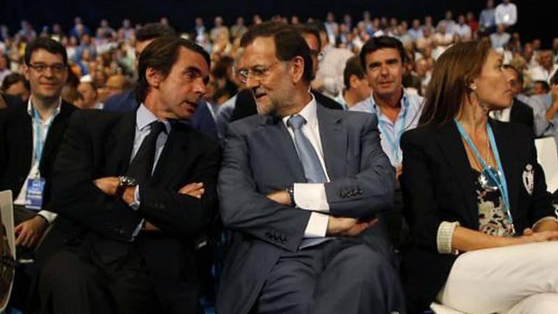 Boletines RNE - Aznar y Rajoy, testigos en el juicio por la presunta Caja B del PP - Escuchar ahora