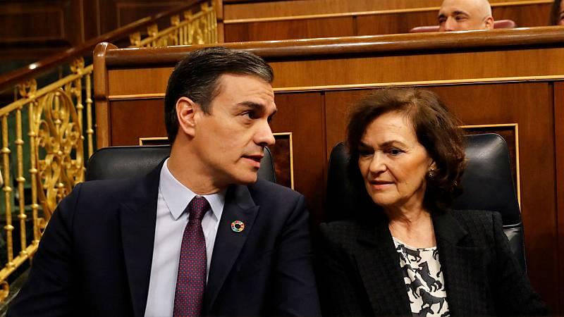 Boletines RNE - PP, VOX y Cs arremeten contra el Gobierno por el asunto Delcy Rodríguez - Escuchar ahora