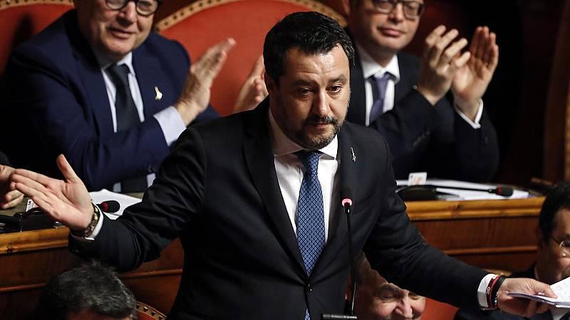 Boletines RNE - El Senado italiano retira la inmunidad a Salvini - Escuchar ahora