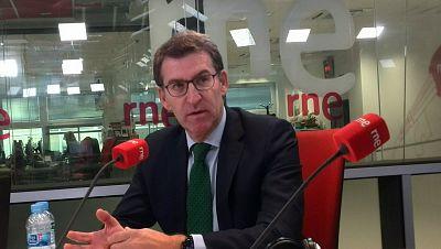 """Las mañanas de RNE con Íñigo Alfonos - Feijóo acepta incluir a dirigentes de Cs en sus listas siempre """"que se decida en Galicia""""  - Escuchar ahora"""