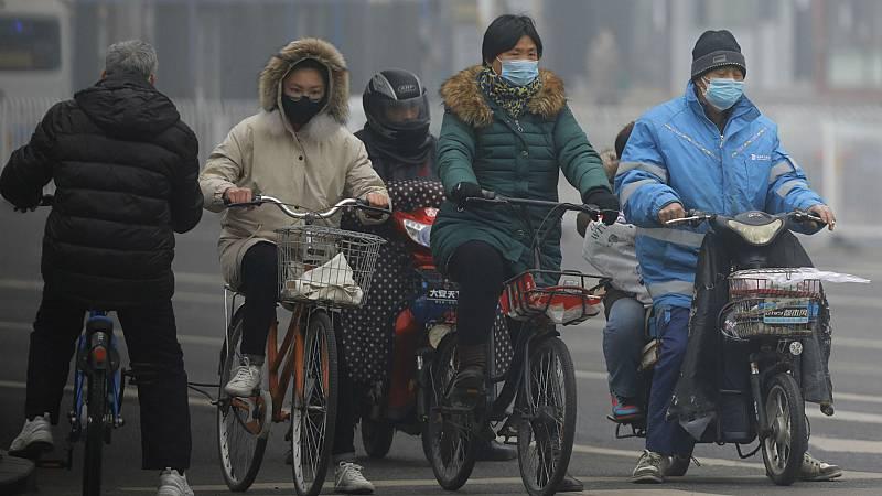 Boletines RNE - Los casos de coronavirus se disparan en China - Escuchar ahora