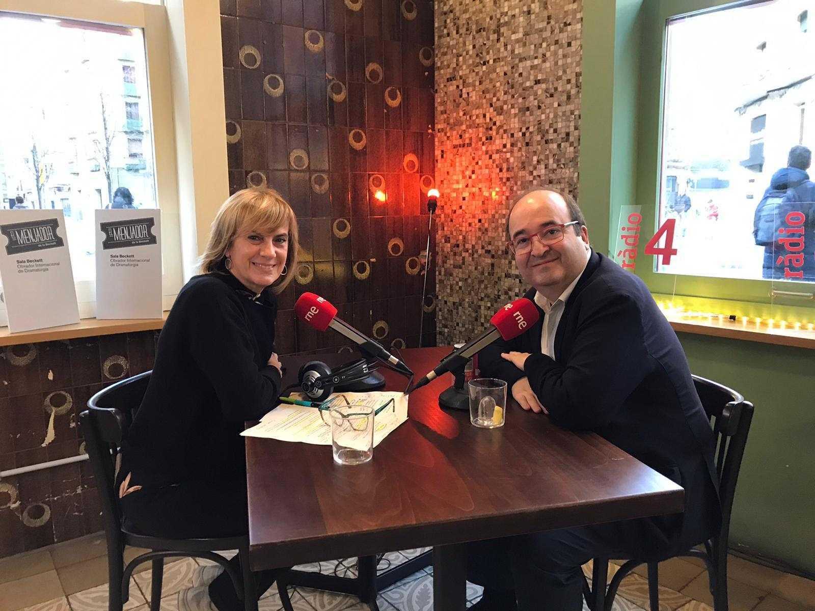 Gemma Nierga entrevista Miquel Iceta 13/02/20