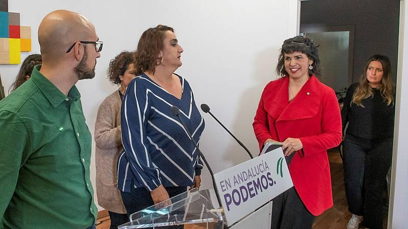 Boletines RNE - Teresa Rodríguez anuncia la creación de un partido propio - Escuchar ahora