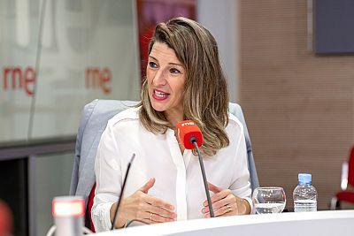 """Las mañanas de RNE con Íñigo Alfonso - Yolanda Díaz: """"Por primera vez hay diálogo social"""" - Escuchar ahora"""