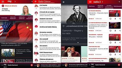 Las cuñas de RNE - Ahora la app de RNE: más fácil de usar y con más servicios - Escuchar ahora