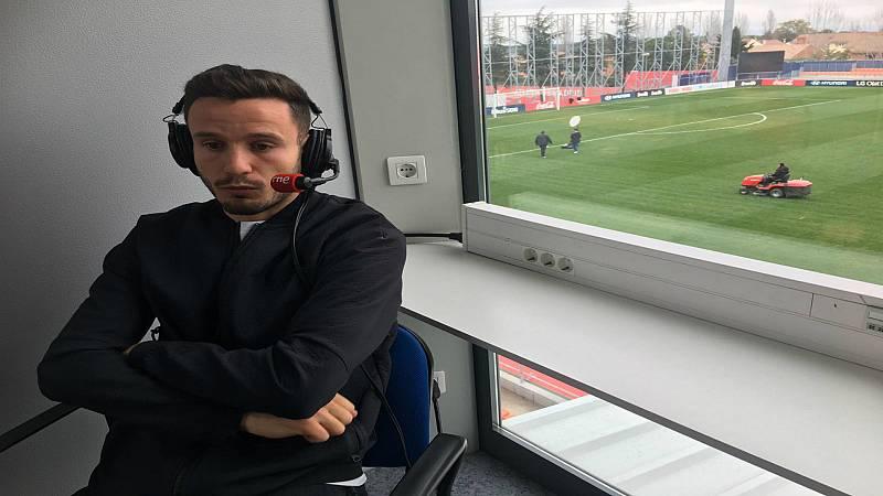"""Radiogaceta de los deportes - Saúl Ñíguez: """"Mañana jugamos el partido más importante del año"""""""