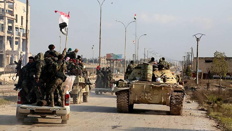 14 horas - Risas contra las bombas en Siria - Escuchar ahora