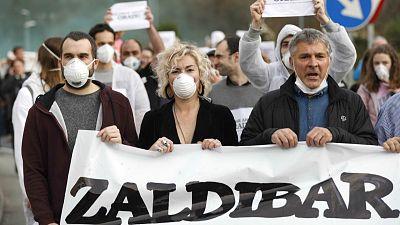 14 horas - Los vecinos de Zaldibar siguen preocupados por el aire que respiran - Escuchar ahora