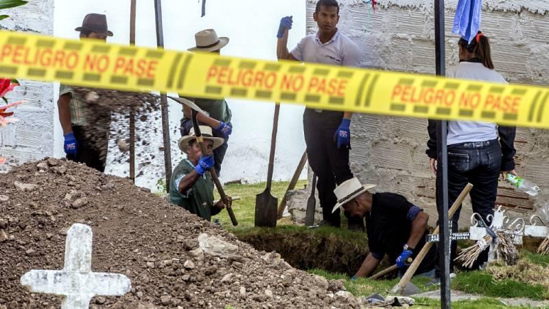 Cinco continentes - Colombia: exhumaciones y falsos positivos - Escuchar ahora