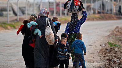 Tres millones de personas viven desplazadas por los bombardeos en Idlib
