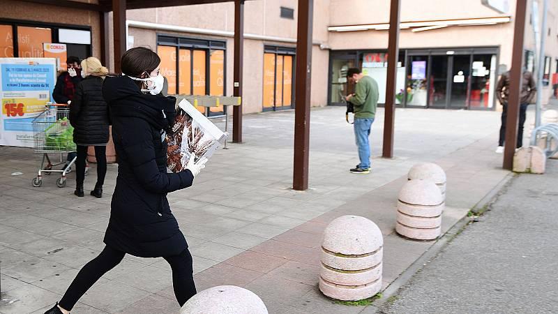"""Codogno, foco del coronavirus en Italia: """"Solo están abiertos supermercados y farmacias"""""""