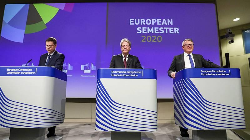 14 horas - Bruselas urge a España a que garantice la sostenibilidad de las pensiones - Escuchar ahora