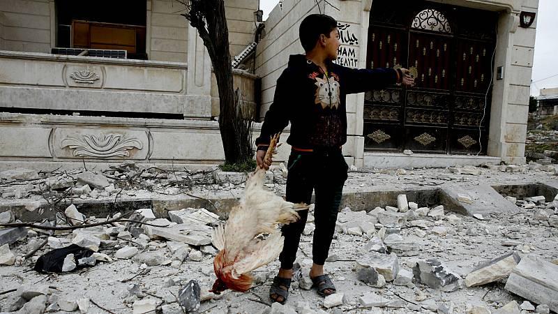 14 horas - Un millón de civiles atrapados en el noroeste de Siria - Escuchar ahora